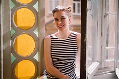 Anastasia (ollazarev) Tags: leicam3 leica summicron fujifilm fuji400h girl portrait