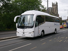 Ratho Coaches of Newbridge Scania irizar i6 YP18SUU at Princes Street, Einburgh , on 15 June 2018. (Robin Dickson 1) Tags: rathocoachesofnewbridge busesedinburgh yp18suu scania irizari6