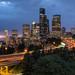 Seattle light trails