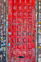 Abstract Writings (Shadow _ Traveler) Tags: door graffiti tagging writing abstractphotography abstract abandonedbuildings photography streetphotography hdrphotography streets streetart macrophotography newmexico