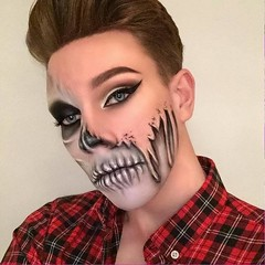 Photo (ineedhalloweenideas) Tags: ineedhalloweenideas halloween makeup make up ideas for 2017 happy night before christmas october 31 autumn fall spooky body paint art creepy scary pumpkin boo artist goth gothic