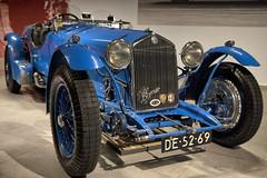 Alfa Romeo 8C 2300 Le Mans Touring (Mark A.H.) Tags: bc 2300 lemans touring 1933 louis chiron 15 mc monaco lm dnf cortese italy blue car alpha romeo bc2300 franco race 24h 24 louwman museum