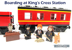 Boarding at King's Cross Station (WhiteFang (Eurobricks)) Tags: lego collectable minifigures series city town space castle medieval ancient god myth minifig distribution ninja history cmfs sports hobby medical animal pet occupation costume pirates maiden batman licensed dance disco service food hospital child children knights battle farm hero paris sparta historic brick kingdom party birthday fantasy dragon fabuland circus people photo magic wizard harry potter jk rowling movies blockbuster sequels newt beasts animals train characters professor school university rare