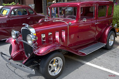 1932 Chevrolet Standard Sedan (Pat Durkin OC) Tags: 1932chevrolet standard sedan candyapplered hotrod