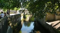 Bayeux - L'Aure (jeanlouisallix) Tags: bayeux calvados base normandie france ville architecture moyen âge patrimoine historique culture médiévales urbanisme cours deau rivière eau reflets