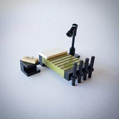 Bedroom furniture (Coral House MOC) (betweenbrickwalls) Tags: lego furniture design furnituredesign interiors