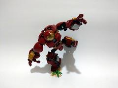 Lego 76104 - Hulkbuster 2.0 fine tuned (c_s417) Tags: lego marvel hulkbuster hulk ironman avengers 3 infinity war moc 76104 set bricks amoc toys mech comics