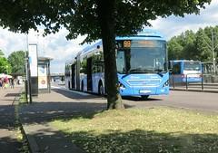 Buss 99 på hållplats Hjalmar Brantingsplatsen i Göteborg 23 juni 2018 (biketommy999) Tags: bus buss hisingen göteborg sverige sweden biketommy biketommy999 2018