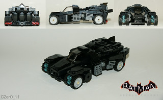 LEGO BAK Batmobile (Vehicle Mode)