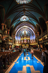 191/365: Notre Dame Basilica (judi may) Tags: 365the2018edition 3652018 day191365 10jul18 canada montreal notredame architecture basilica canon5d