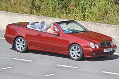 Mercedes Benz CLK230 (Charles Dawson) Tags: m4 mercedes mercedesclk p5gkd