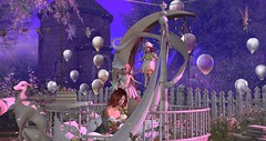 Moon (мαчєℓαι ηєιѕѕєя) Tags: fantasy fairies moon virtual second life secondlife girls woman colors imagination picture photographer