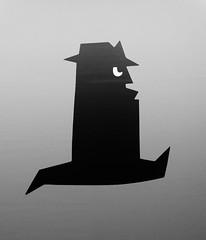 """The Dark Side of Dick Bruna"", Kunsthal Rotterdam (Miranda Ruiter) Tags: blackandwhite exhibition art detectives thriller crime bookcovers design graphicdesign zwartebeertjes dickbruna kunsthal rotterdam"