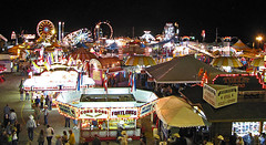 frontier days fair (scott1346) Tags: night fair celebration lights summer western 1001nights 1001nightsmagiccity people food curlyfries 1001nightsmagicwindow autofocus canont3i