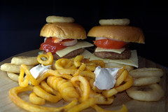 Homemade Quarter Pounder Cheese Burgers with Curly Fries (Tony Worrall) Tags: add tag ©2018tonyworrall images photos photograff things uk england food foodie grub eat eaten taste tasty cook cooked iatethis foodporn foodpictures picturesoffood dish dishes menu plate plated made ingrediants nice flavour foodophile x yummy make tasted meal nutritional freshtaste foodstuff cuisine nourishment nutriments provisions ration refreshment store sustenance fare foodstuffs meals snacks bites chow cookery diet eatable fodder homemade quarter pounder cheese burgers curly fries chips meat