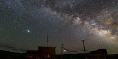 Fireball Meteor Over Bodie July 7 (Jeffrey Sullivan) Tags: fireball meteor bodie state historic park abandoned wild west ghost town night photography workshop canon eos 6d digital photo copyright 2018 jeff sullivan july 7