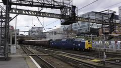 Arrival at King's Cross (McTumshie) Tags: 20180616 55009 alycidon d9009 dps deltic delticpreservationsociety kingscrossstation king'scross london thealbertgilmourmemorialcharter class55 railway england unitedkingdom