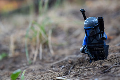 Mark of Death (RagingPhotography) Tags: lego star wars mandalorian bounty hunter outside outdoor outdoors plastic minifigure minifig figure toy toys ragingphotography