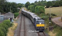 Irish Rail 072 at Ballyhale. (Fred Dean Jnr) Tags: kilkenny 072 ballyhale july2018 belmond irishrail iarnrodeireann 071class markiii ballyhalestationkilkenny