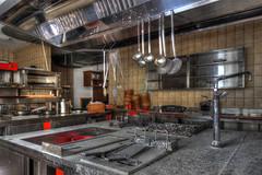 Atchoum ! ! (urban requiem) Tags: urbex urban exploration austria hotel noblesse kitchen kuche cuisine