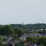 Pagode de Chanteloup vue du château d'Amboise
