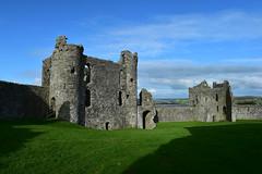448 LLansteffan (Pixelkids) Tags: llansteffan wales southwales castle ruin llansteffancastle ruinen antik landschaft himmel gras europa