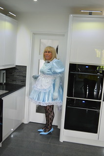 Sissy Barbie in baby blue 05