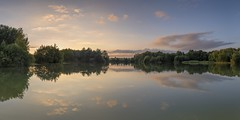 *Binsfelder Märchen @ sunset panorama* (Albert Wirtz @ Landscape and Nature Photography) Tags: water tree sunset albertwirtz twilight goldenhour goldenestunde reflections spiegelung panorama moseleifel südeifel wittlichland tonabbau clay teich lake binsfeld spangdahlem airbase miningarea abbaugebiet renaturiert renatured fairytale märchen binsfeldermärchen sunsetpanorama eifel rheinlandpfalz rhinelandpalatinate deutschland germany allemagne panoramic clouds wolken forest wald nikon d810 eifelmosel thewanderlust wandern hiking trail eifelsteig eifeltrail abendstille silence haidafilter grauverlauffilternd09soft