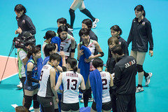"DSC05116 (jeffreyng photography) Tags: fivb volleyballnationsleague volleyball 世界排球聯賽 vnl 女子排球 ""hong kong station"" 日本對意大利 japanteam ""italy team"""