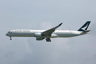 B-LXA, A350-1000, Cathay Pacific,  Hong Kong