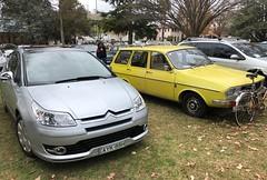 Citroen C4 & Renault 12 Estate Queanbeyan 17-6-2018 (http://roverownersclub.com.au/) Tags: citroen c4 renault 12 estate