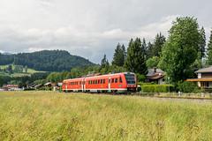 612 513 RB DB Regio Oberstdorf 11.06.18 (Paul David Smith (Widnes Road)) Tags: 612513 rb db regio oberstdorf 110618 br612 allgäu allgäubahn allgäuer