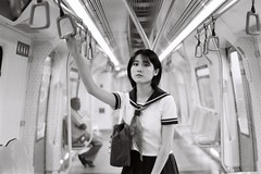 ILFORD DELTA 400 (1) (Waynegraphy) Tags: waynegraphy waynelee nikon nikonf3 50mmf18d 50mm ilford ilforddelta film 35mm malaysia girl ladies blackandwhite