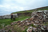 Ruins of Fahan Bee Hive Huts between Dunbeg Fort and Slea Head at end of Dingle Peninsula (Ken Zaremba) Tags: countykerry dunbegfort europe geography group international ireland susan travelers architecturaldetail ruins travel geocountry geocity geostate geolocation