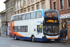 Stagecoach Western 10917 SN67XAJ (Will Swain) Tags: irvine 10th march 2018 scotland scottish north town centre west bus buses transport travel uk britain vehicle vehicles county country stagecoach western 10917 sn67xaj