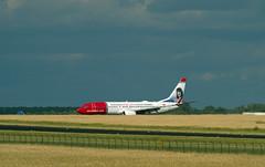 Norwegian Boeing 737-800 Sonderlackierung 22.6.2018 (rieblinga) Tags: berlin sxf norwegian sonderlackierung boeing 737800 schönefeld 2262018 oslo