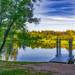 Giaginsky pond