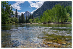 Yosemite Valley. View on Half Dome over the Merced River (Paulemans) Tags: sonyfe424105goss 2018usavacation paulemans paulderoode yosemite yosemitenationalpark yosemitevalley nikvivenza