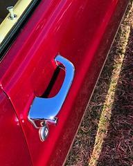 """Invitation"" (communicatingcreativelydj) Tags: ford mustang invitation auto musclecar musclecars automobile door doorhandle timetravellersworldfair"