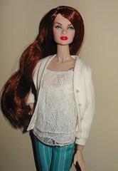 Erin's Easy Breezy Style (ksavoie1213) Tags: sanglian elenpriv fashionroyalty lafemme coquettejordon erins inrougeserins erinsalston redheads fashiondolls