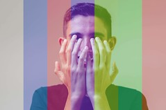 Technicolor (www.adrianosobralfotografias.com.br) Tags: brazil technicolor colours portrait teen boy kid hands studio art milenials millenials generation