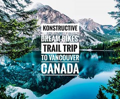 Our Dream Bikes' Trail Trip to Vancouver in Canada has started. Very exciting times ahead ... Unser Dream Bikes Trail Trip nach Kanada hat begonnen. Sehr aufregende Momente liegen voraus ... #konstructive.de #bcbr2018 #bikersofinstagram #bikelife #mountai