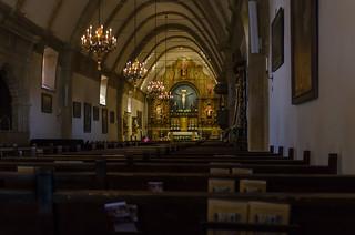 Chapel - Carmel Mission 1797