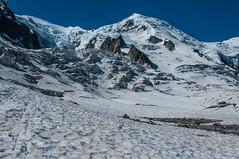 Bossons (faltimiras) Tags: france montblanc grand mullets gouter dome bosson alpinism alpinismo alpinisme glaciar glacier midi aguille sunrise refugi refuge chamonix