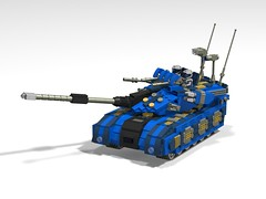 o7 commando tank finished1 (demitriusgaouette9991) Tags: lego military army ldd armored tank turret powerful deadly vehicle railgun