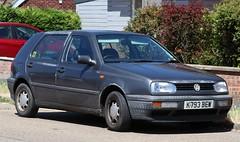 K793 BEW (Nivek.Old.Gold) Tags: 1993 volkswagen golf cl 5door 1781cc