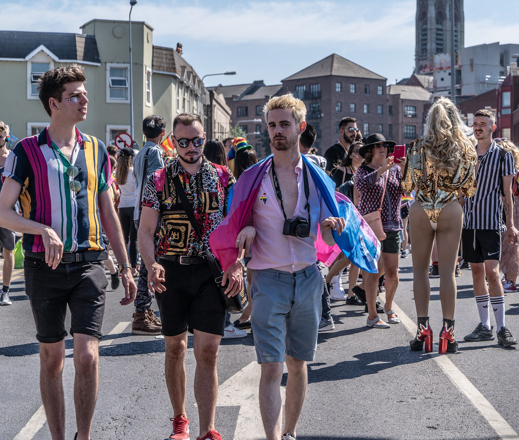 ABOUT SIXTY THOUSAND TOOK PART IN THE DUBLIN LGBTI+ PARADE TODAY[ SATURDAY 30 JUNE 2018] X-100027