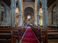 Nossa Senhora da Oliveira (Blueocean64) Tags: portugal church eglise architecture perspective inside interior intérieur art hdr panasonic g5 samyang 12mm 美丽 艺术 摄影 旅游 探索