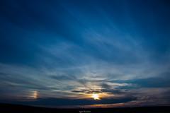 Sun halo near Kharkov, Ukraine. July 1st, 2018 (krutovig) Tags: nature sky sunset sunhalo halo galo