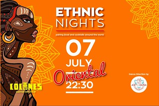Cocones Ethnic Nights 💃 #Oriental_Edition Saturday 07.07   Enjoy #Anatolian_Vibes and #Dance_Shows from various civilizations and taste #Traditional_Dishes and #Local_Cocktails from all over the world in a #Food_Pairing_Menu with Folklore Sounds.